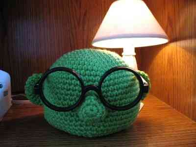 crochet eyeglasses Geek Chic: Hot Style in Glasses and Crochet