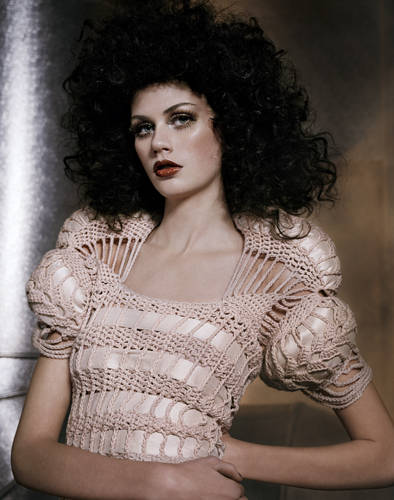 crochet fashion1 Jaw Dropping Crochet Fashion from Sandra Backlund