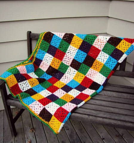 crochet granny squares Crochet Link Love: Top Posts of the Week