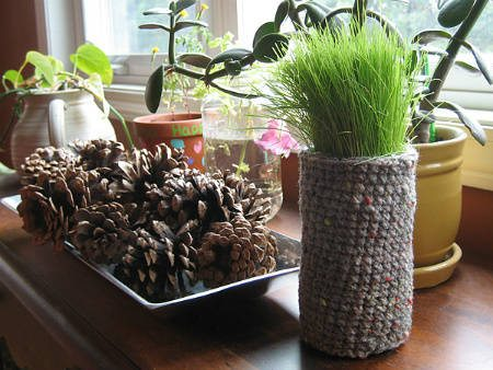 crochet indoor garden Inspiring Crochet Gardens: Projects and Ideas for the Home