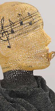 crochet music art Edgy 1970s Crochet Designers: Norma Minkowitz