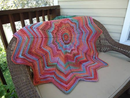 crochet ripple blanket Crochet Link Love: Top Posts of the Week