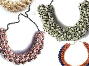 crochet rope jewelry 25 Crochet Artists to Learn More About
