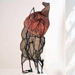 crochet sculpture 300x300 Edgy 1970s Crochet Designers: Norma Minkowitz