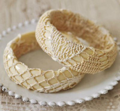 doily bracelet When A Doily Is Not Just a Doily: Curtains, Clocks, Necklaces and Other Upcycled Doily Ideas