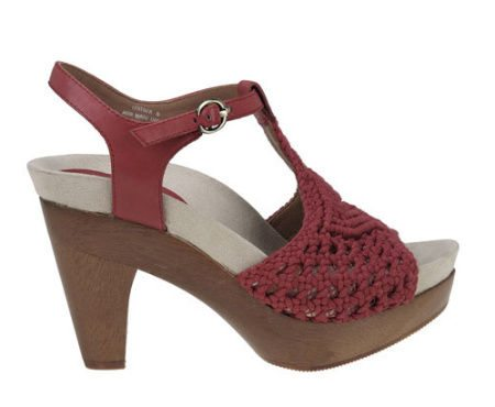 earthies amalfi crochet Coveting: Red Crochet High Heel Sandals