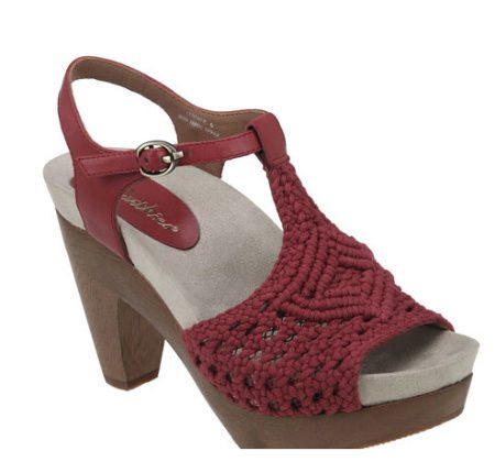 Post image for Coveting: Red Crochet High Heel Sandals