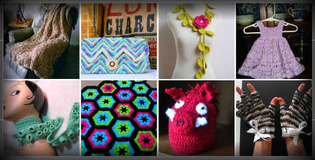 etsy crochet 2011 One Year Ago in Crochet