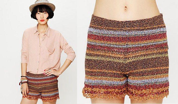 25 Ravishing Pairs Of Crochet Shorts Crochet Patterns How To