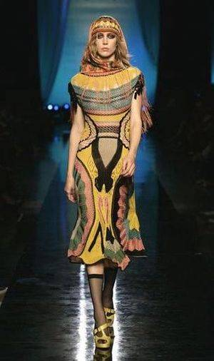 gaultier crochet dress Designer Crochet: Jean Paul Gaultier