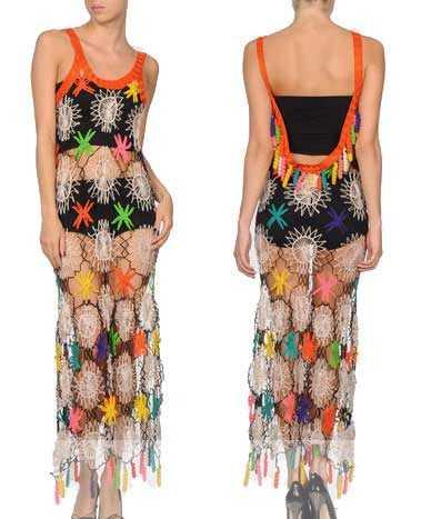 gaultier crochet dress
