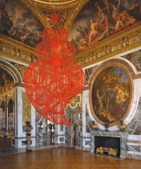 joana vasconcelos versailles Joana Vasconcelos is Château de Versailless First Female Artist
