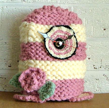 knit and crochet clock 20 Most Sensational Crochet Clocks