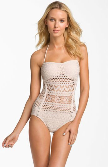 lined crochet swimsuit 30 Most Beautiful Crochet Swimsuits