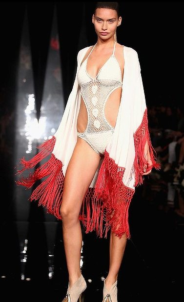 lisa maree fashion week One Year Ago in Crochet