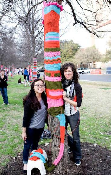 magda sayeg tree cozy Crochet Artist Carol Hummel