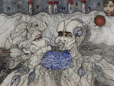 norma minkowitz illustration Edgy 1970s Crochet Designers: Norma Minkowitz