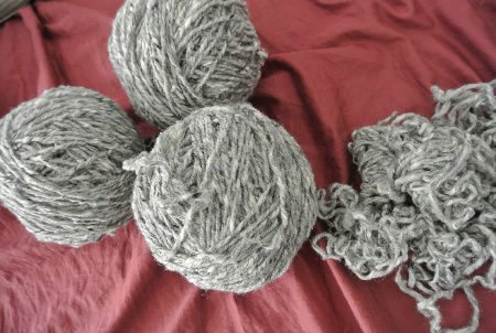 reclaimed yarn
