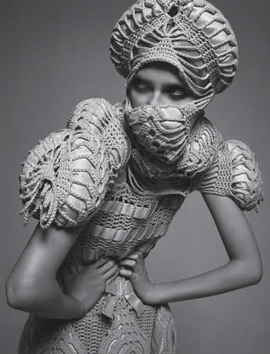 sandra backlund crochet fashion
