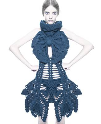 sandra backlund crochet1 Jaw Dropping Crochet Fashion from Sandra Backlund
