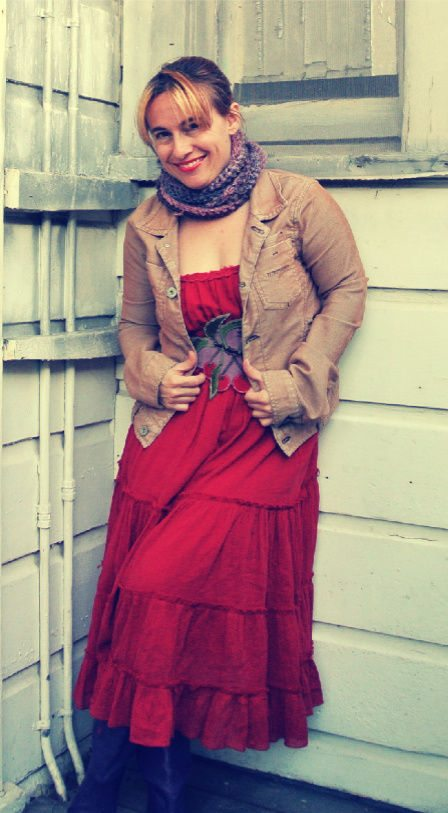 style ideas How to Accessorize a Boho Red Dress with Crochet