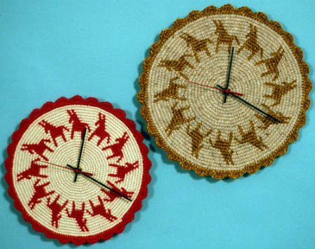 tapestry crochet clocks 20 Most Sensational Crochet Clocks