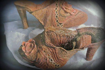 vintage crochet shoes Edgy 1970s Crochet Designers: Norma Minkowitz