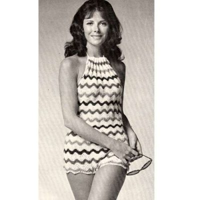 vintage crochet swimsuit pattern 400x400 30 Most Beautiful Crochet Swimsuits