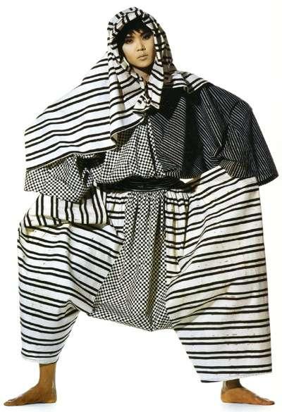 vintage issey miyake1 Designer Crochet: Issey Miyake