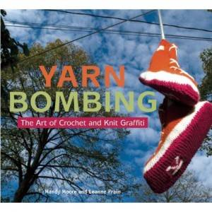 yarn bombing One Year Ago in Crochet 5/13   5/19