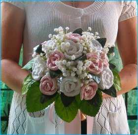 crochet bouquet 20 Crochet Wedding Ideas for the Inspired DIY Woman