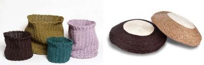 crochet phone cords 400x128 Plastics Crochet Artist Magda Van der Vloed