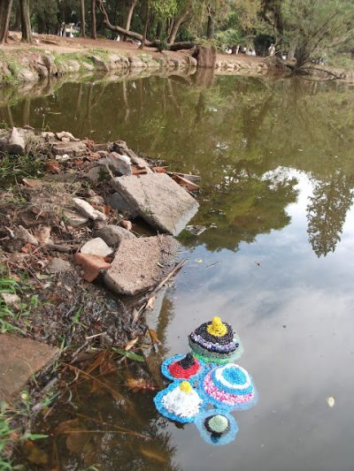 crochet plastic art project 400x533 Something in the Water in Brazil ... and maybe Turkey?