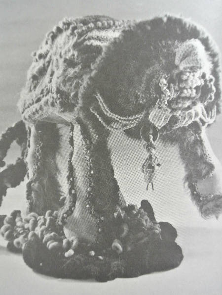 crochet sculpture janet lipkin Edgy 1970s Crochet Art: Janet Lipkin Decker