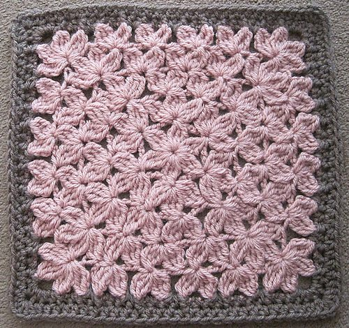Crochet Patterns For Afghan : Popular Crochet Pattern: In Treble Afghan Square