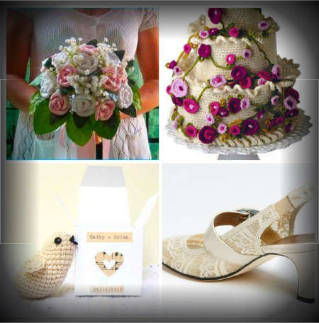 Crocheting Ideas : 20 Crochet Wedding Ideas for the Inspired DIY Woman