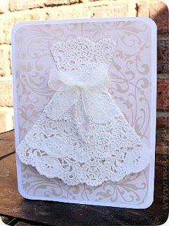 doily dress card 20 Astonishingly Awesome Doily Dresses