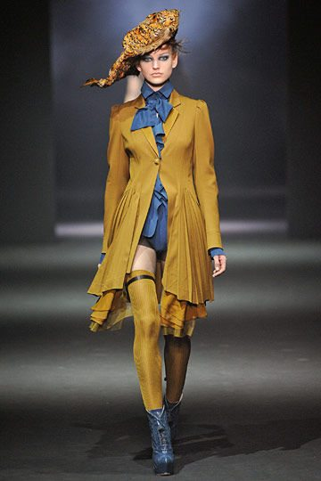 fall 2012 galliano Designer Crochet Project: John Galliano