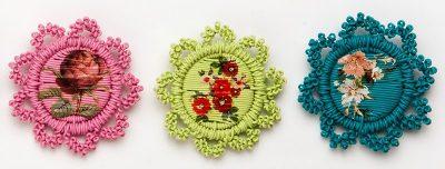 floral magda van der vloed 400x152 Plastics Crochet Artist Magda Van der Vloed