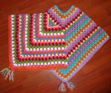granny poncho 20 Popular Free Crochet Patterns to Bookmark if You Havent Tried Them Yet