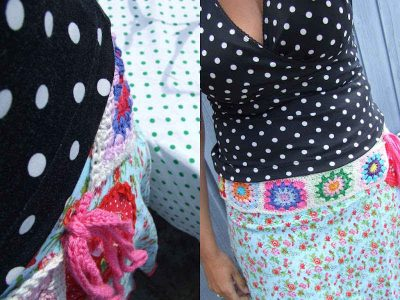 granny square belt 400x300 Best Crochet Blog Links This Week