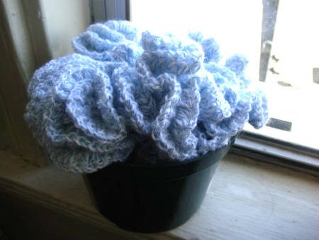 hyperbolic crochet flowers Then and Now ... One Year Ago in Crochet (6/17   6/23)