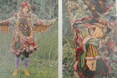 janet lipkin crochet coat Edgy 1970s Crochet Art: Janet Lipkin Decker
