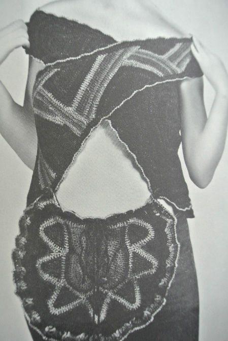 janet lipkin decker crochet Edgy 1970s Crochet Art: Janet Lipkin Decker