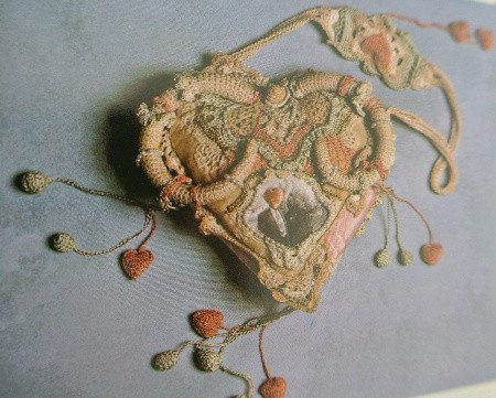 lannie hart crochet art Edgy 1970s Crochet Art: Lannie (Martowe) Hart