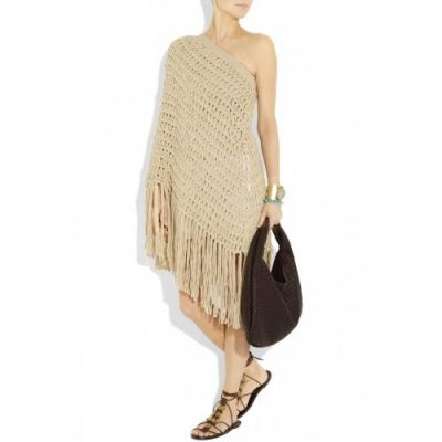 michael kors poncho dress 400x400 Michael Kors Started Fashion Career as a Crocheter