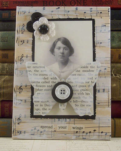 mixed media art 15 Fun Project Ideas for Crocheters who Love Buttons