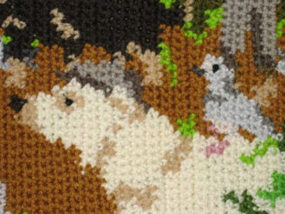 tapestry crochet detail 400x300 Then and Now ... One Year Ago in Crochet (6/17   6/23)
