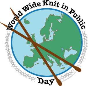 dans le monde entier en tricot en public