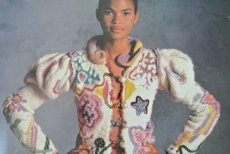 1970s crochet jacket Edgy 1970s Crochet Designers: Dina (Schwartz) Knapp